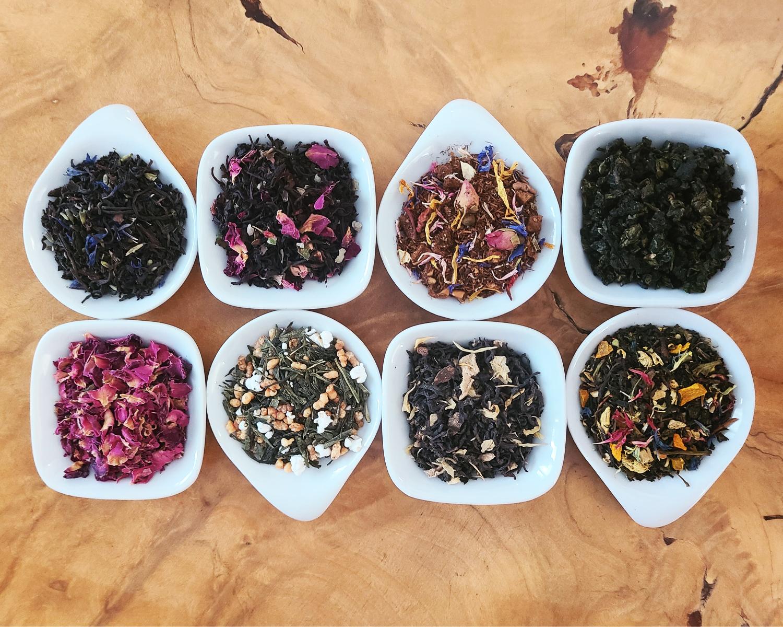 Edmonton tea shop loose leaf tea flavours