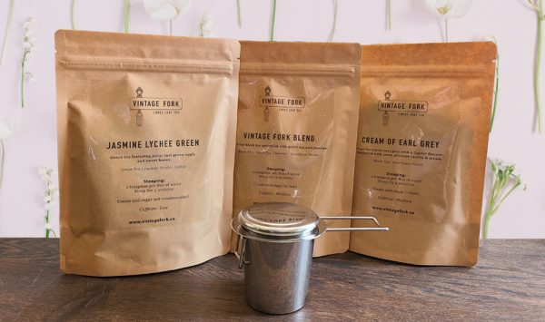 Bundle 3 kinds of tea and an infuser with 10% off